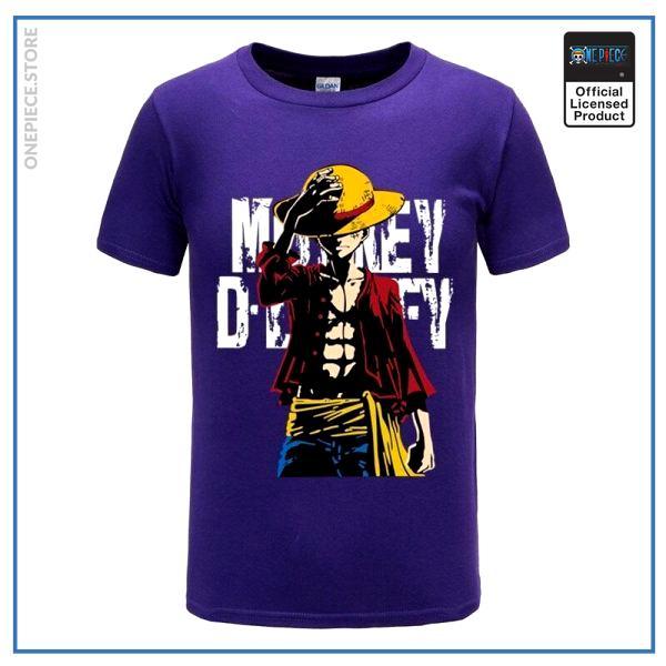Blue / XXL Official One Piece Merch