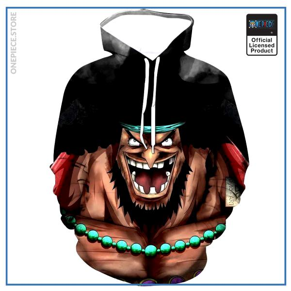 One Piece Hoodie  Blackbeard OP1505 S Official One Piece Merch