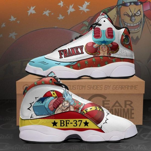 Franky Sneakers One Piece Anime Shoes - One Piece Store