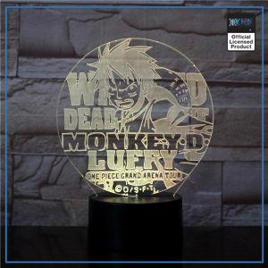 One Piece Light Lamp  Mugiwara no Luffy OP1505 Touch Official One Piece Merch