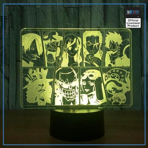 One Piece Light Lamp  Straw Hat Pirates OP1505 Touch Official One Piece Merch