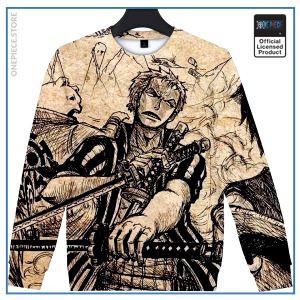 One Piece Sweater  Roronoa Zoro OP1505 S Official One Piece Merch