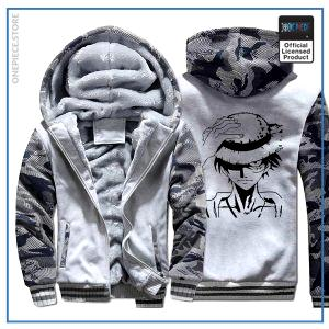 One Piece Jacket  Luffy (Camo White) OP1505 M Official One Piece Merch