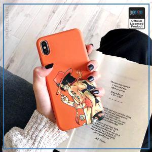 One Piece iPhone Case  Portgas D Ace OP1505 For iPhone 6 6S Official One Piece Merch