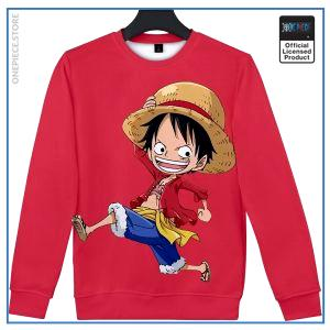 One Piece Sweater  Chibi Luffy OP1505 S Official One Piece Merch