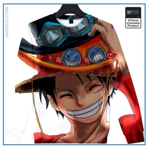 One Piece Sweater  Luffy Brothers OP1505 S Official One Piece Merch