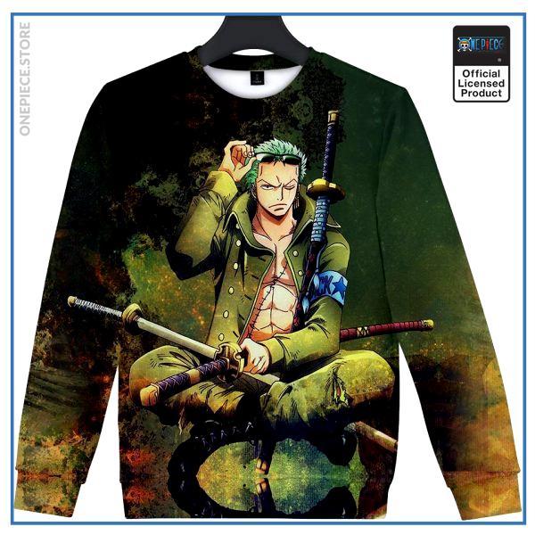 One Piece Sweater  Zoro OP1505 S Official One Piece Merch
