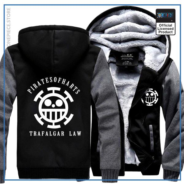 One Piece Jacket  Law (Black & Grey) OP1505 M Official One Piece Merch