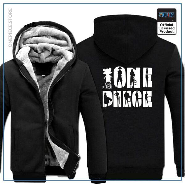 One Piece Jacket  Logo (Black) OP1505 M Official One Piece Merch