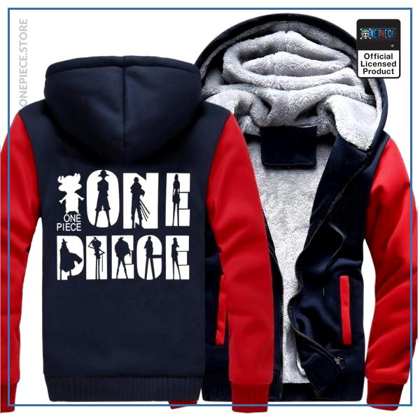 One Piece Jacket  Logo (Red & Blue) OP1505 S Official One Piece Merch