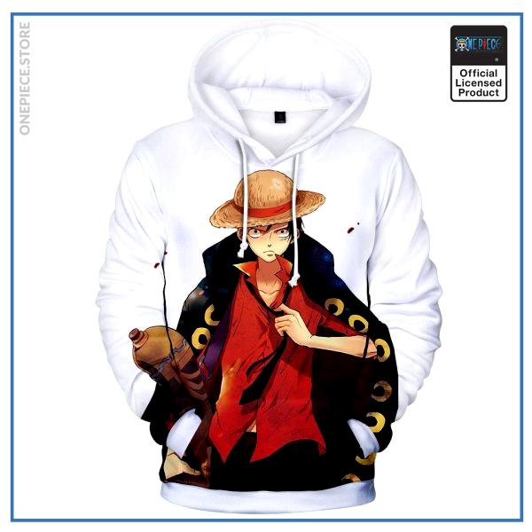 One Piece Hoodie  Luffy Strong World OP1505 S Official One Piece Merch