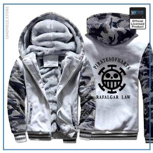 One Piece Jacket  Law (Camo White) OP1505 M Official One Piece Merch