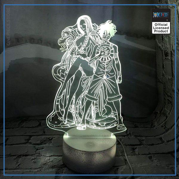 One Piece Light Lamp  Luffy and Hancock OP1505 Touch Official One Piece Merch