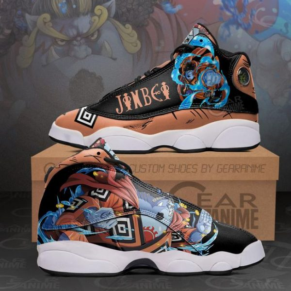 Jinbei Sneakers One Piece Anime Shoes - One Piece Store