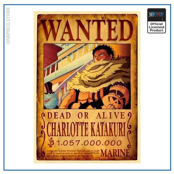 One Piece Wanted Poster  Charlotte Katakuri Bounty OP1505 Default Title Official One Piece Merch