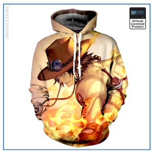 One Piece Hoodie  Ace OP1505 S Official One Piece Merch