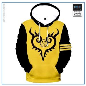 One Piece Hoodie  Corazon Jolly Roger OP1505 S Official One Piece Merch