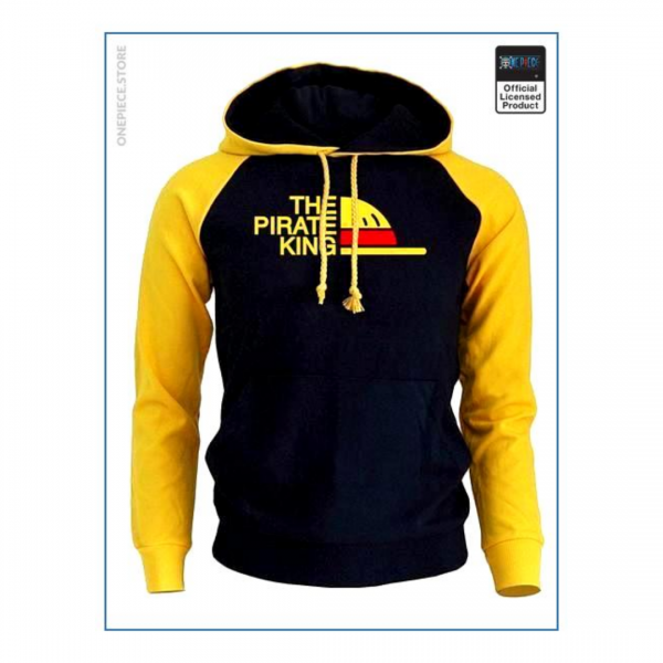 One Piece Hoodie Luffy Pirate King - One Piece Store