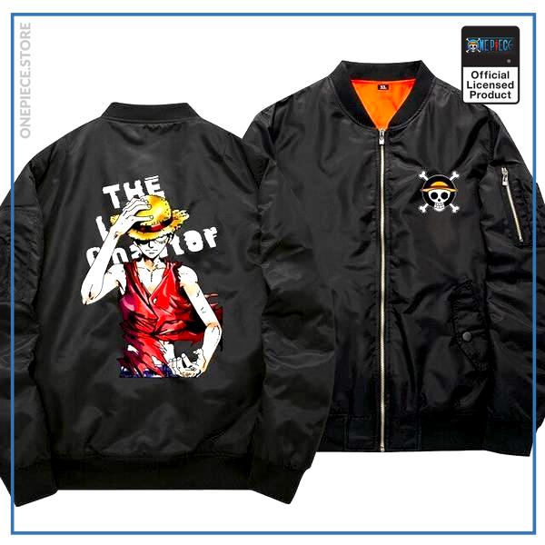 One Piece Bomber Jacket Luffy (Black) OP1505 S Official One Piece Merch