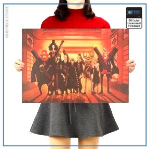 One Piece Poster  Strong World Movie OP1505 Default Title Official One Piece Merch