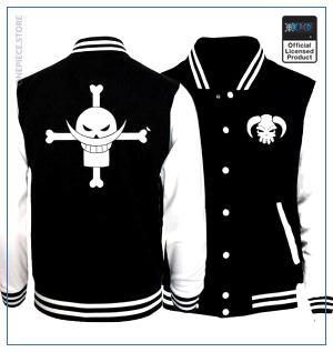 One Piece Varsity Jacket  Whitebeard OP1505 S Official One Piece Merch