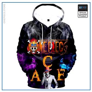 One Piece Hoodie  Ace Son of Whitebeard OP1505 S Official One Piece Merch