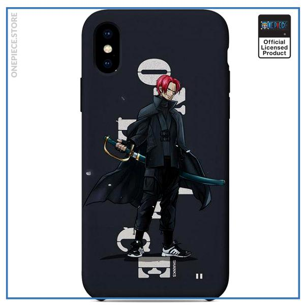 One Piece iPhone Case  Shanks Street Style OP1505 For iPhone 6 Official One Piece Merch