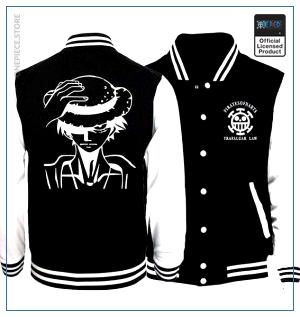 One Piece Varsity Jacket  Luffy OP1505 S Official One Piece Merch