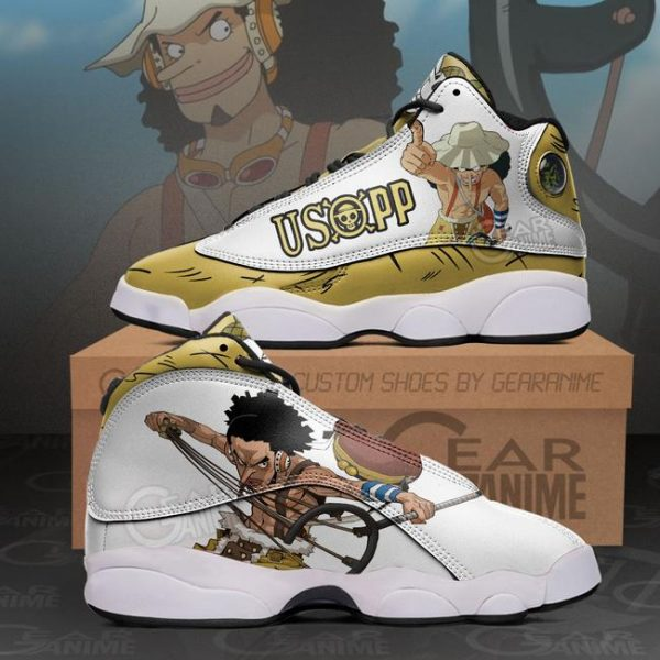 Usopp Sneakers One Piece Anime Shoes - One Piece Store