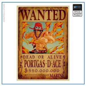 One Piece Wanted Poster  Ace Bounty OP1505 Default Title Official One Piece Merch