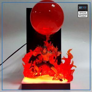 One Piece 3D Lamp  Ace OP1505 Regular Flames Official One Piece Merch
