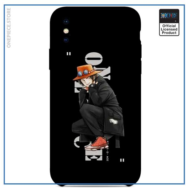 One Piece iPhone Case  Ace Street Style OP1505 For iPhone 6 Official One Piece Merch