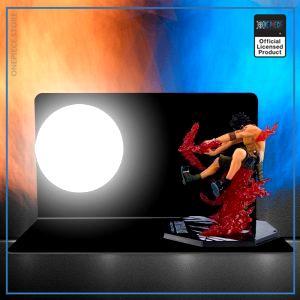 One Piece 3D Lamp  Ace Cross Fire OP1505 Default Title Official One Piece Merch