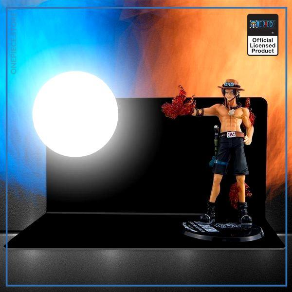 One Piece 3D Lamp  Ace Fire Gun OP1505 Default Title Official One Piece Merch