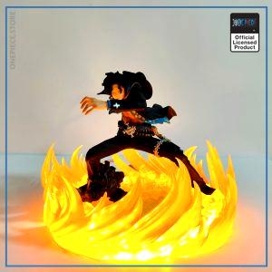 One Piece LED Lamp  Ace Strong World OP1505 Default Title Official One Piece Merch