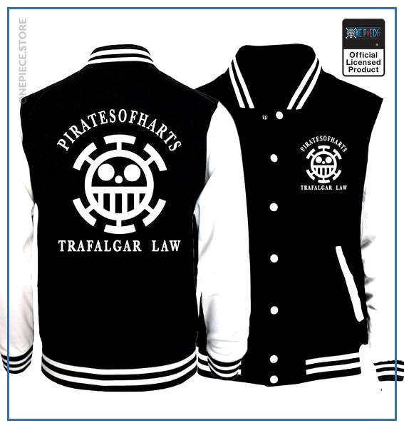 One Piece Varsity Jacket  Heart Pirates OP1505 S Official One Piece Merch