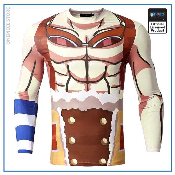 One Piece  Compression Shirt  Usopp OP1505 S Official One Piece Merch