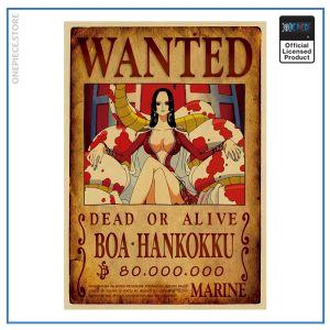 One Piece Wanted Poster  Boa Hancock Bounty OP1505 Default Title Official One Piece Merch