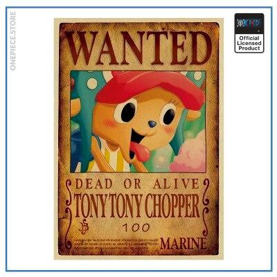 One Piece Wanted Poster  Chopper Bounty OP1505 Default Title Official One Piece Merch