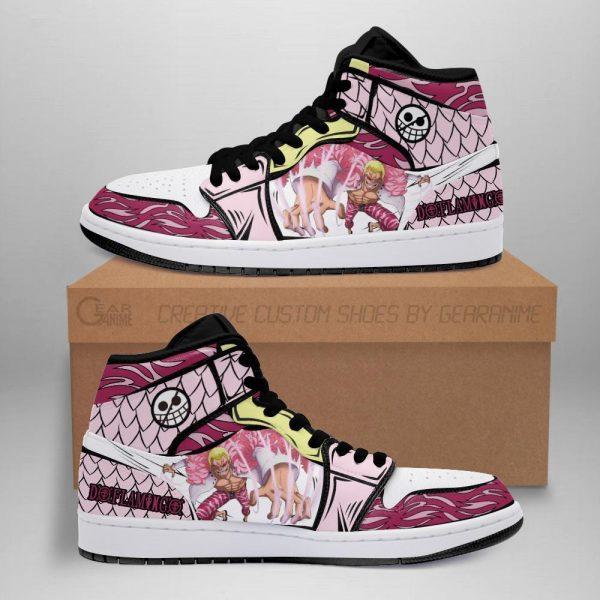 doflamingo jordan sneakers skill one piece anime shoes fan mn06 - One Piece Store
