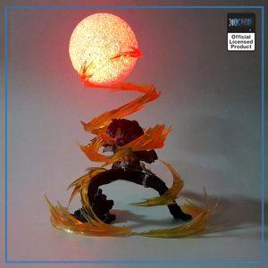 One Piece 3D Lamp  Ace Entei OP1505 Default Title Official One Piece Merch