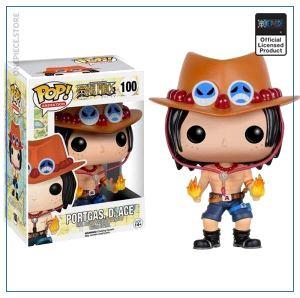 One Piece Funko Pop  Ace OP1505 Default Title Official One Piece Merch