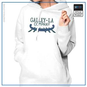One Piece Hoodie  Galley La Company OP1505 White / S Official One Piece Merch