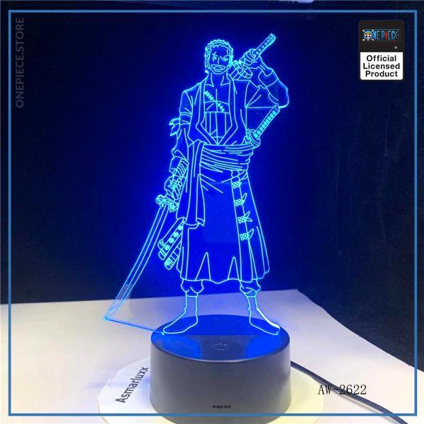 img 0 3D Led cr atif USB clairage d coratif Anime une pi ce forme tactile bouton lampe - One Piece Store