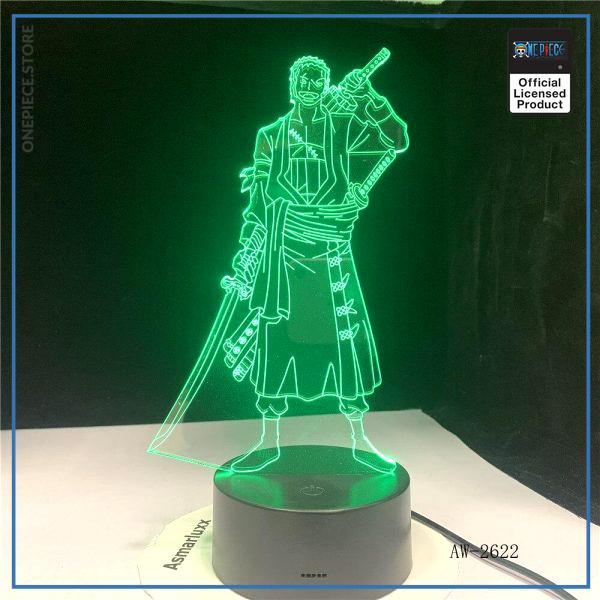 One Piece Light Lamp  Zoro OP1505 Touch Official One Piece Merch