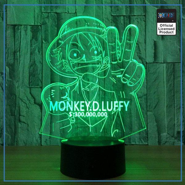 One Piece Light Lamp  Monkey D. Luffy OP1505 Touch Official One Piece Merch