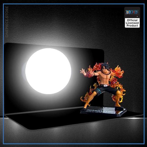 img 1 S orange Anime une pi ce singe D Luffy Fire Boxing Portgas D Ace lampe de - One Piece Store