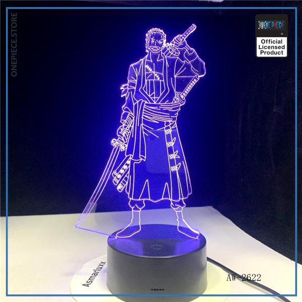 img 2 3D Led cr atif USB clairage d coratif Anime une pi ce forme tactile bouton lampe - One Piece Store