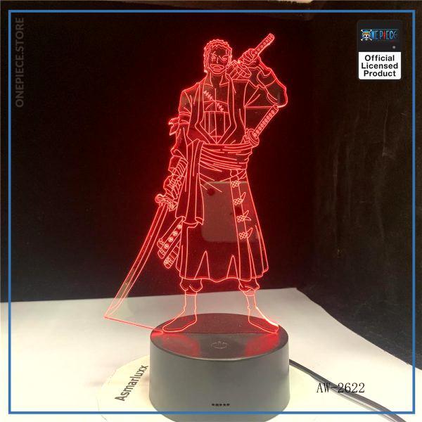 img 4 3D Led cr atif USB clairage d coratif Anime une pi ce forme tactile bouton lampe - One Piece Store