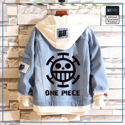 One Piece Jean Jacket  ONE PIECE (Black) OP1505 M Official One Piece Merch